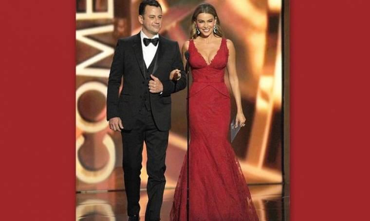 Sofia Vergara: Η γυναικάρα με τα κόκκινα στα βραβεία Emmy!