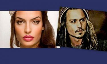 Η Τόνια Σωτηροπούλου στο πλευρό του Johnny Depp;