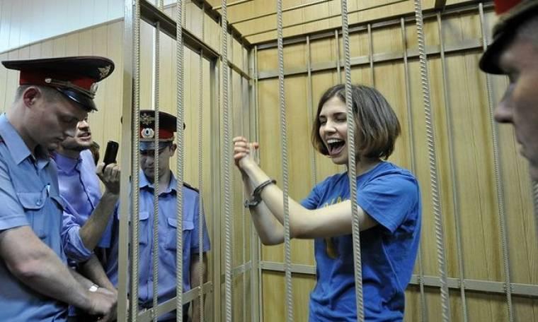 Απεργία πείνας από μέλος των Pussy Riot