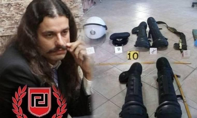 Σύλληψη αστυνομικού για τα όπλα στα γραφεία της ΧΑ στο Αγρίνιο