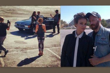 Άννα Μπουσδούκου: Backstage από φωτογράφισή της