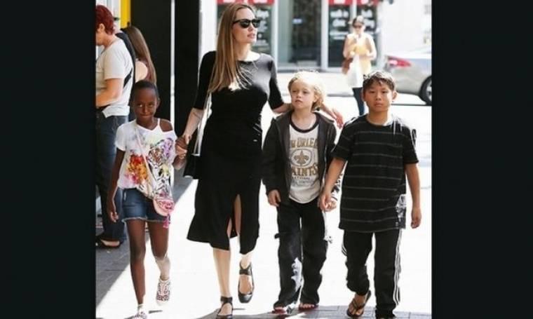 Αντζελίνα Τζολί: Όλα για τα παιδιά της! (φωτογραφίες)