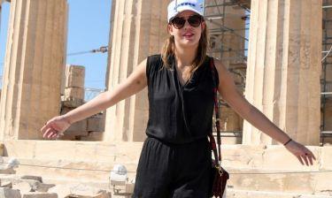 Αντέλ Εξαρχόπουλος: Η πρεμιέρα, η συνέντευξη και οι βόλτες στην Ακρόπολη