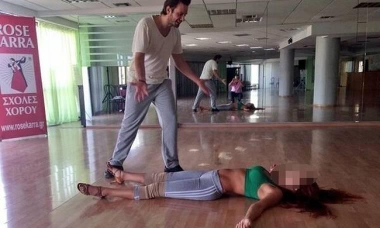 Έπεσε στα πατώματα του Dancing with the stars!