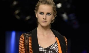 Μοντέρνο, wet look στο show Just Cavalli
