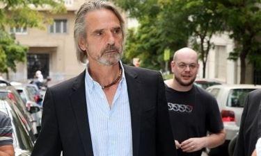Jeremy Irons: «Βλέπω κάποια από τα πρόσωπα στην Ελλάδα και σκέφτομαι ότι στ' αλήθεια μοιάζουμε»