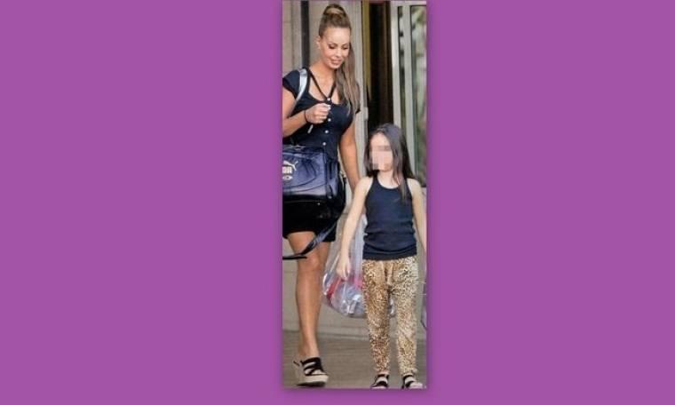 Ιωάννα Λίλη: Στο κολυμβητήριο με την κόρη της