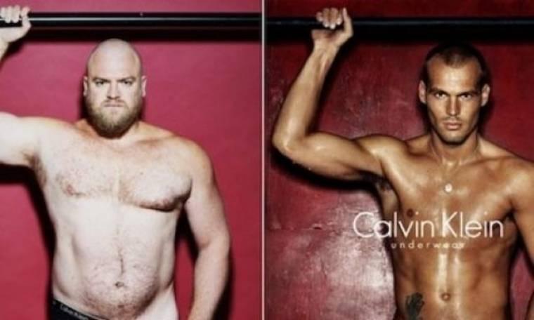Η αστεία πραγματικότητα: Πώς θα ήταν οι σέξι διαφημίσεις εσωρούχων με... κανονικούς άντρες;