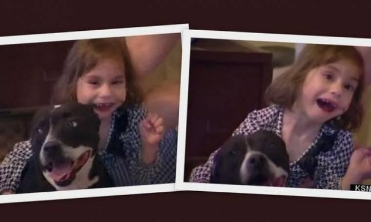 Τυφλό κοριτσάκι, ξαναβρίσκει τη χαμένη της σκύλιτσα, φίλη και οδηγό της! (βίντεο)