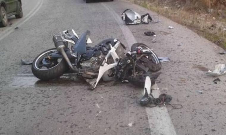Λαμία: 76χρονος οδηγός «διεμβόλισε» 33χρονη δικυκλίστρια