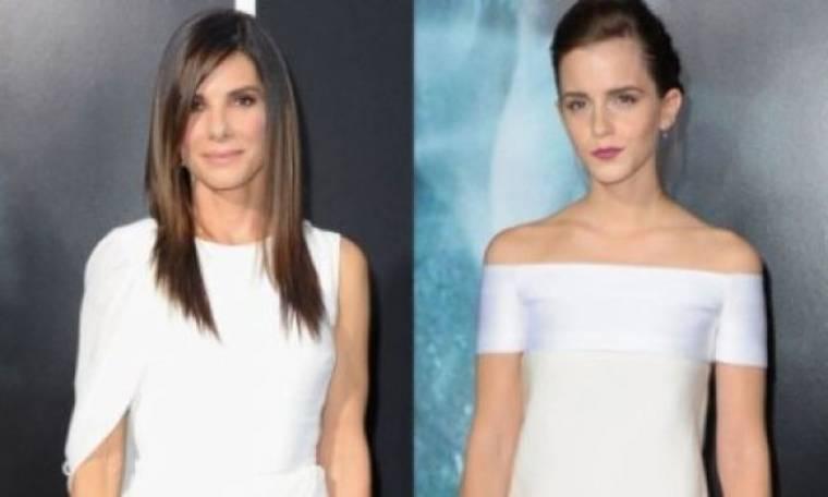 Sandra Bullock - Emma Watson: Μάχη σε… λευκό φόντο!