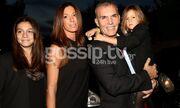 Στέλιος Ρόκκος: Φωτογραφίζεται πρώτη φορά με τις δυο κόρες του