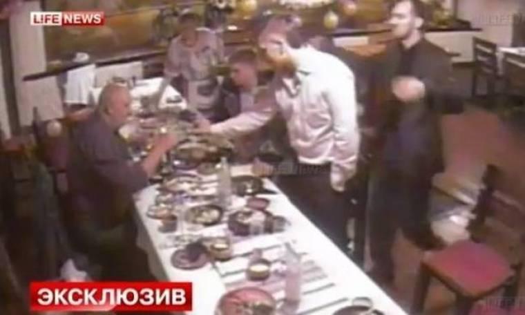 Βίντεο-ΣΟΚ: Στο τραπέζι του γάμου βγήκαν μαχαίρια