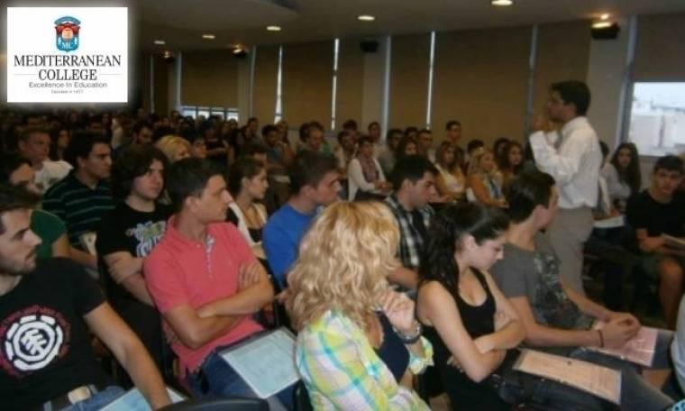 Mediterranean College: Orientation day 2013