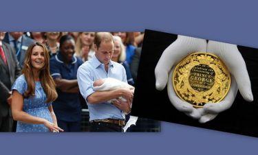 William-Kate Middleton: Το τριών μηνών μωρό τους αποκτά τo δικό του κέρμα!