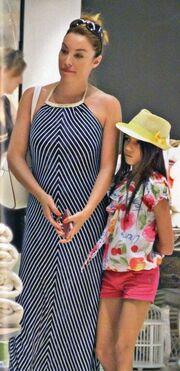 Τατιάνα Στεφανίδου: Για αγορές με την κόρη της