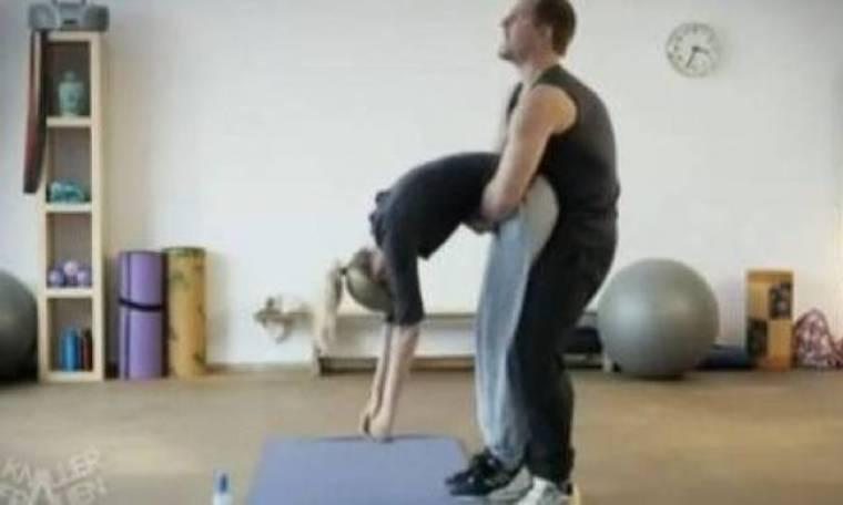 Τα τυχερά του επαγγέλματος-Η άσκηση που θα ζήλευαν πολλοί άνδρες!