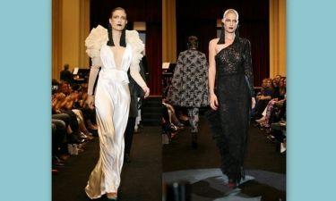 Εντυπωσιακή επίδειξη μόδας με αρκετούς επώνυμους