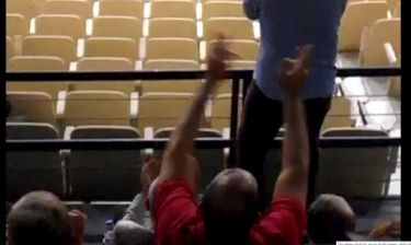 Χειρονομία - πρόκληση του Παναγιώτη Αγγελόπουλου εις βάρος του Παναθηναϊκού