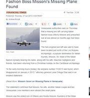 Απίστευτη γκάφα: Στην Ελένη σήμερα κατάλαβαν ότι βρέθηκε το αεροπλάνο του Missoni που είχε βρεθεί από τον Ιούνιο