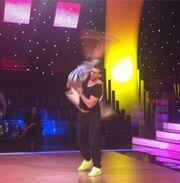 Δείτε την Γωγώ Μαστροκώστα στις πρόβες της χορογραφίας της για το «Dancing»
