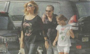 Βοσκόπουλος-Γκερέκου: Ξέγνοιαστες στιγμές με την κόρη τους!