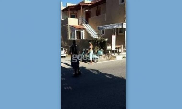 Συμβαίνει τώρα: Δείτε την Rihanna στην Κρήτη…  (Nassos blog)