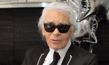Karl Lagerfeld: Τώρα και καθηγητής