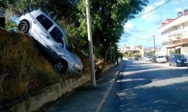 Ρόδος: Πάρκαρε το αυτοκίνητό της και... δείτε που το βρήκε! (pics)