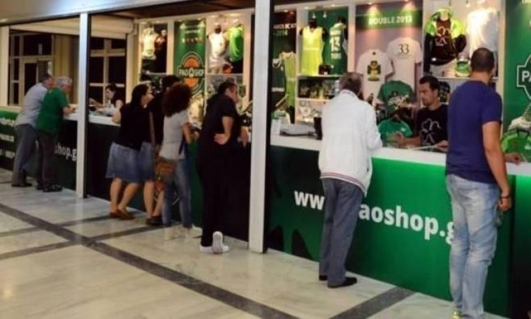 Τα pao shop κλέβουν την παράσταση! (video+photos)