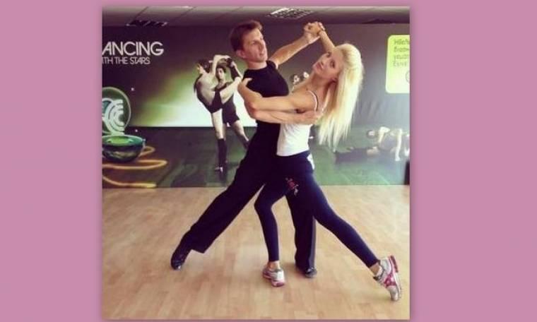 Ευαγγελία Αραβανή: Οι πρόβες της για το δεύτερο live του Dancing with the stars 4