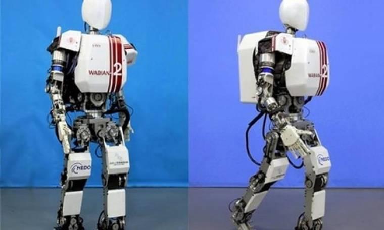 Κατασκεύασαν ανδροειδές που περπατά ακριβώς σαν άνθρωπος - VIDEO