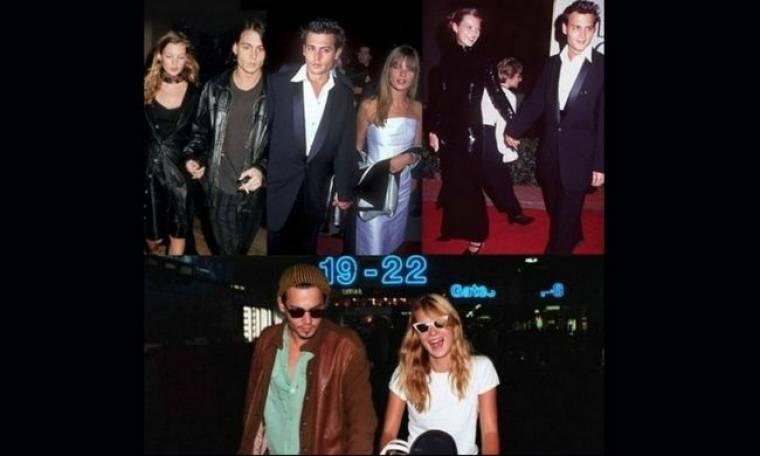 Όταν η Kate Moss ήταν το κορίτσι του Johnny Depp