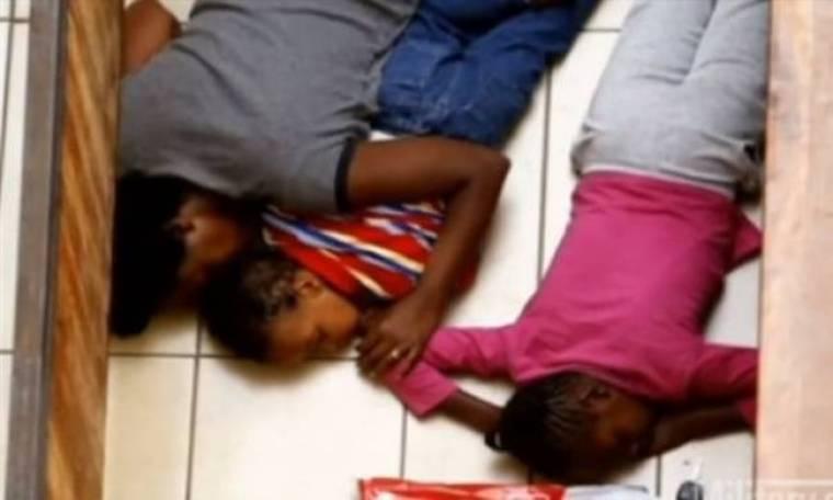 Νέο συγκλονιστικό βίντεο από την πολύνεκρη ομηρία στο Ναϊρόμπι