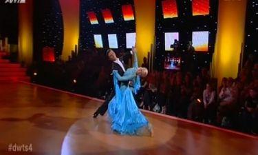 Πρωτιά για την Ευαγγελία Αραβανή στο δεύτερο  live του «Dancing with the stars 4»