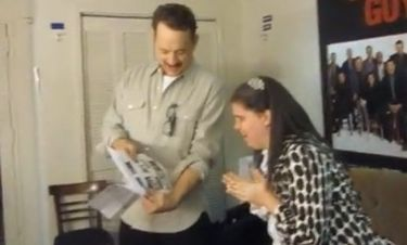 Tom Hanks: Συναντήθηκε με θαυμάστρια που πάσχει από αυτισμό!