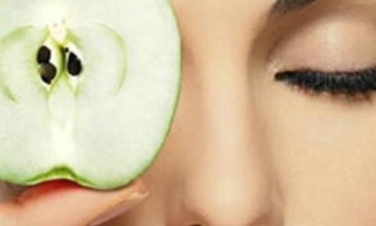 Μάσκα ομορφιάς από μήλα κατά των ρυτίδων
