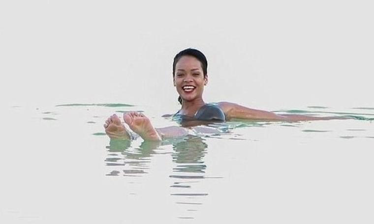 Οι βουτιές της Rihanna