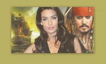 Η Τόνια Σωτηροπούλου στους «Πειρατές της Καραϊβικής»