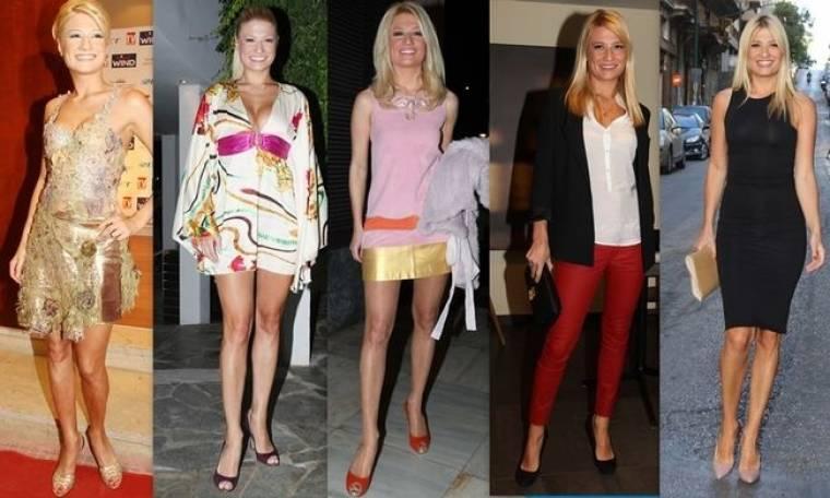 Η μετάλλαξη του style της Φαίης Σκορδά σε 6 χρόνια! Από τα… μπουζούκια στα σαλόνια!