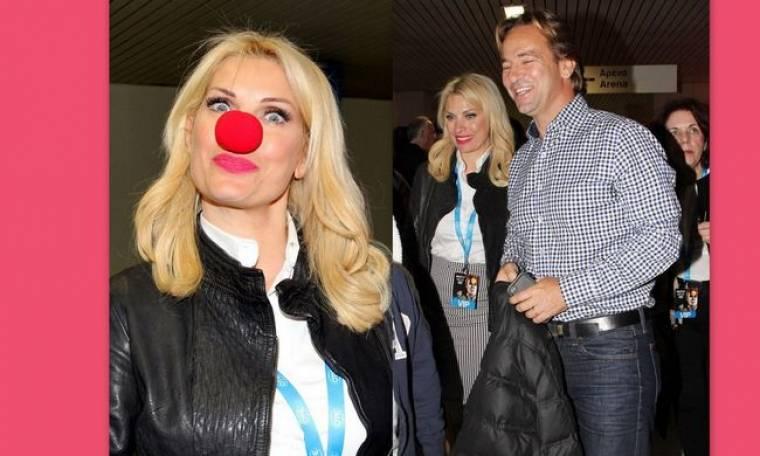 Η Ελένη, η κόκκινη μύτη κλόουν και η δημόσια εμφάνιση με τον Ματέο!
