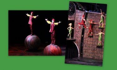 Ποιοι επώνυμοι βρέθηκαν στο Cirque du soleil;