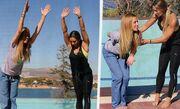 Πετρουλάκη-Παπαδημητρίου: Power Yoga στην Βουλιαγμένη
