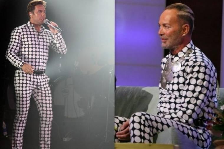 Λάκης Γαβαλάς: Πήγε να μιλήσει για τον Γιώργο Μαζωνάκη ντυμένος Μαζώ!
