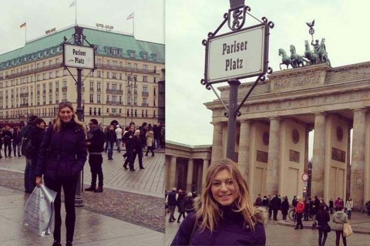 Ζέτα Δούκα: Φωτογραφίες από το ταξίδι της στο Βερολίνο