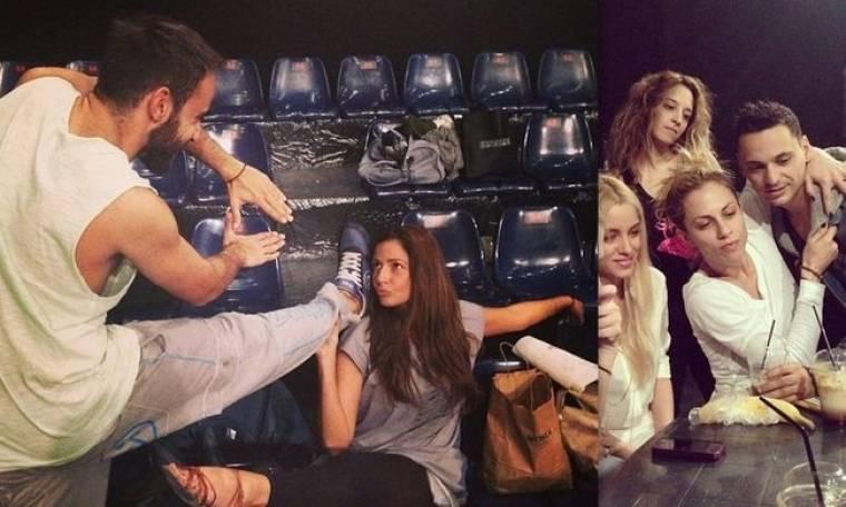 Οι πρωταγωνιστές του Dancing with the Stars λίγες ώρες πριν το αποψινό live! (φωτογραφίες)