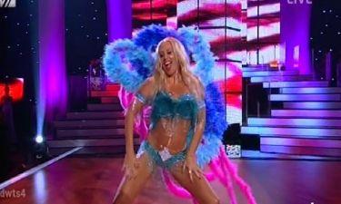 Η Γωγώ Μαστροκώστα αναστάτωσε τα πλήθη με την σέξι εμφάνισή της στο τρίτο live του «Dancing»