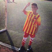 Αγγελική Ηλιάδη: Παρακολούθησε τον γιο της να παίζει μπάλα (φωτό)