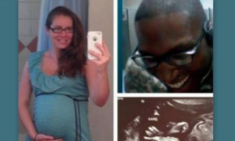 ΦΡΙΚΗ: Είδε live στο Skype να μαχαιρώνουν την έγκυο γυναίκα του