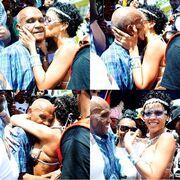 Tα συγκινητικά λόγια και τα τρυφερά φιλιά της Rihanna στον παππού της!